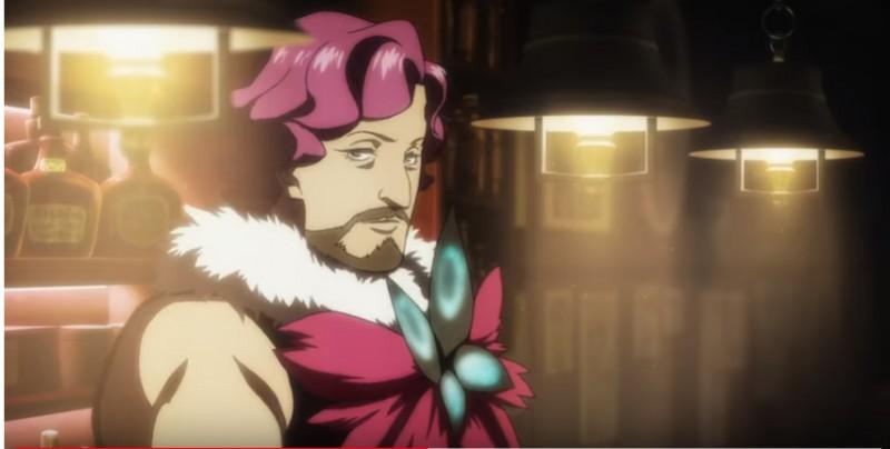 Шерлок из Кабуки-тё кадр из аниме