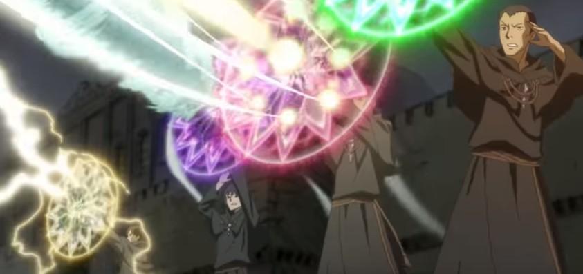 Волшебник-воин Орфен кадр из аниме