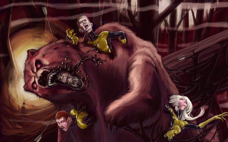 новые мутанты демон-медведь