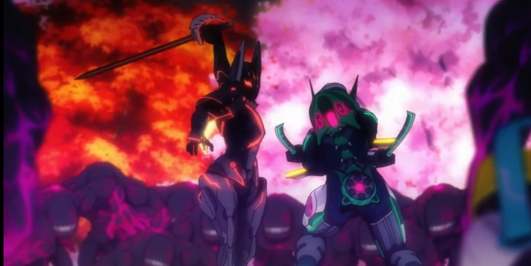 Новые персонажи из аниме  Вечноцветущая сакура