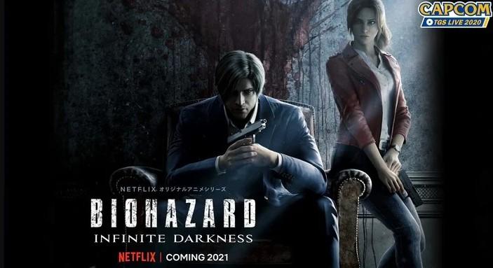 Аниме Обитель Зла: Бесконечная тьма — анонс-трейлер