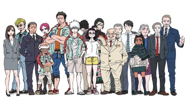 Годзилла: Точка сингулярности — новое аниме от Нетфликс