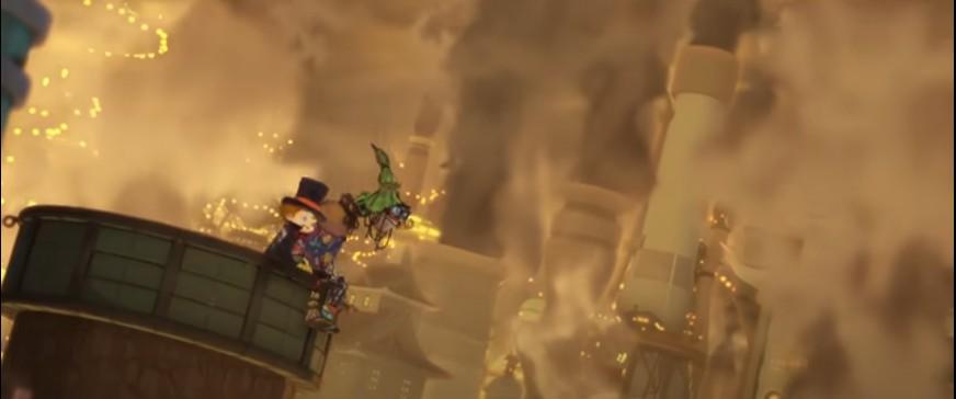 Полнометражное аниме Пупелль из города дымоходов — жизнь появится везде, где есть хоть малейший шанс