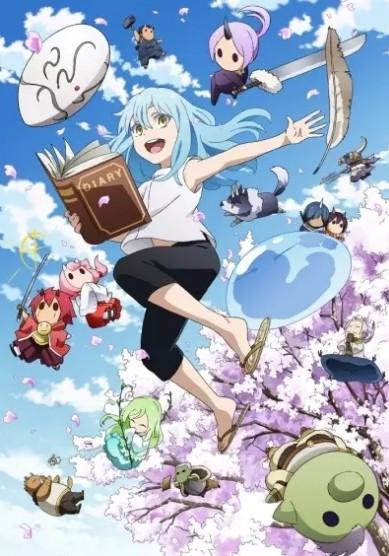 """аниме """" О моем перерождении в слизь: дневник слизи-попаданца / Tensura Nikki: Tensei Shitara Slime Datta Ken"""