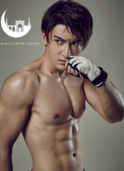 Китайский актёр Мерхат Ялкун / Ми Жэ   Merxat Yalkun /Mi Re