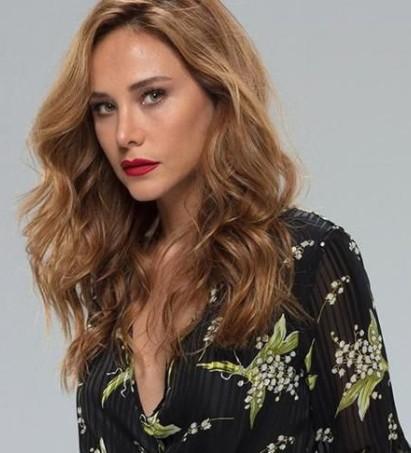 Турецкая актриса Бурчин Терзиоглу / Burçin Terzioğlu