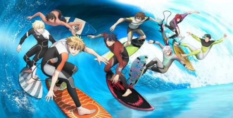Волна! — аниме об океане и способах на нем развлечься.