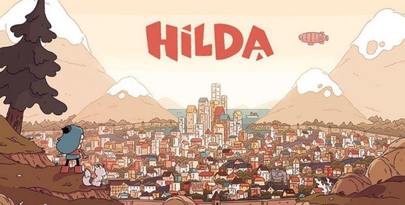 Хильда — девочка говорящая с великанами. И эльфами. И еще много с кем. Любит она поговорить