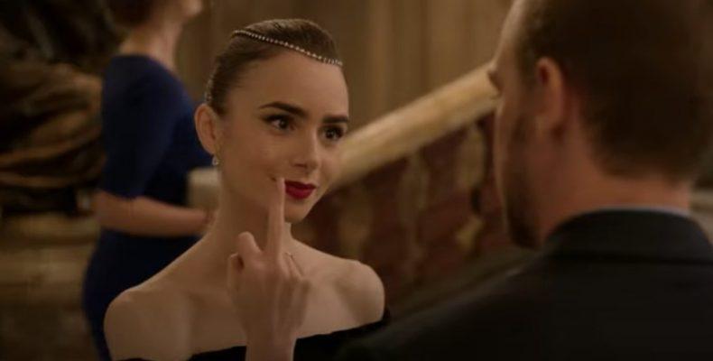 Эмили в Париже — сериал про американку, которая удивлена что во Франции незнакомых женщин не боятся трогать за руку и даже эту саму руку целовать!