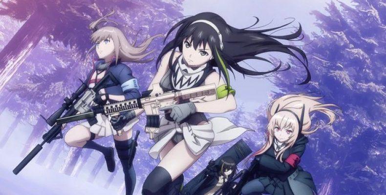 Аниме Девушки на линии фронта  — 2-й трейлер и обновлённые чардизы персонажей